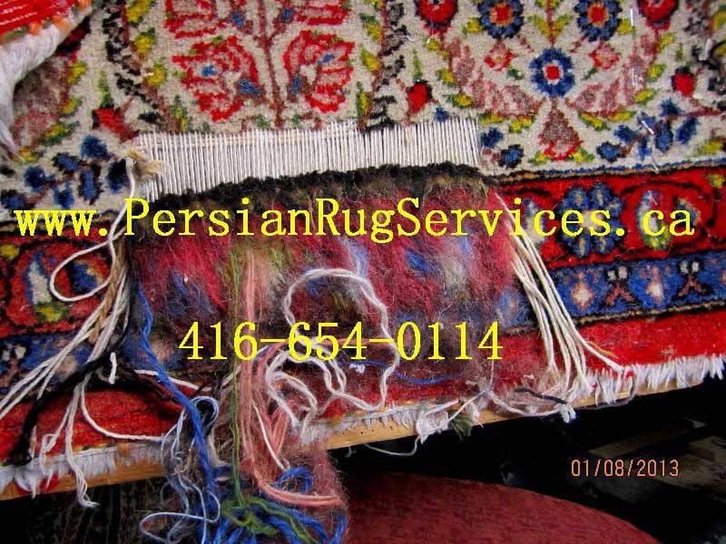 Persian Amp Oriental Area Rug Repair Services In Toronto