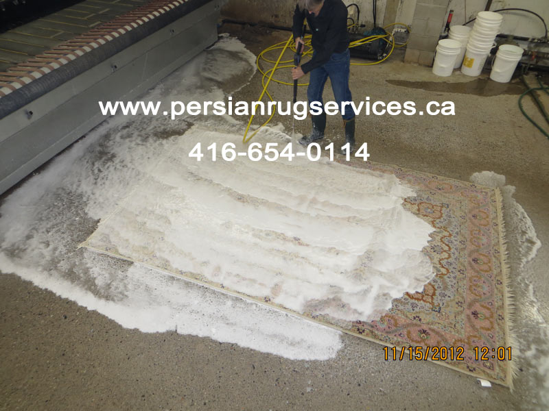 Rug Cleaning Toronto - Shampooing