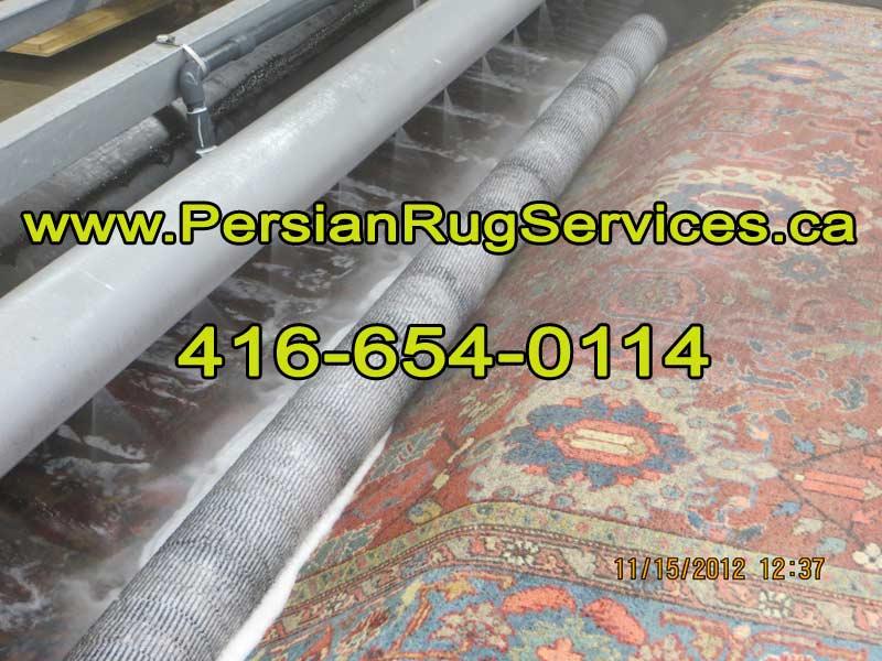 Toronto Rug Cleaing - rug Rinsing