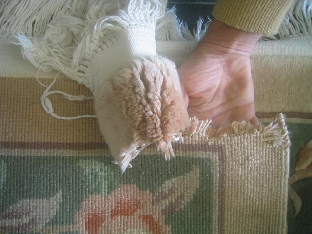 Oriental Rug Repair - Rips