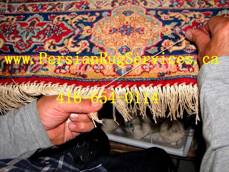 Re Serging Rug Stitch Lock Support Binding 187 Persian Rug