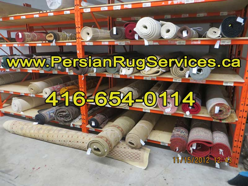 Toronto Rug Cleaning - storage